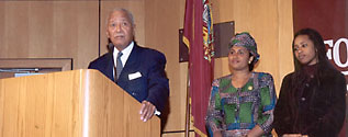 David Dinkins and Kadiatou Diallo